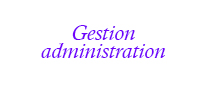 logo gestion administration