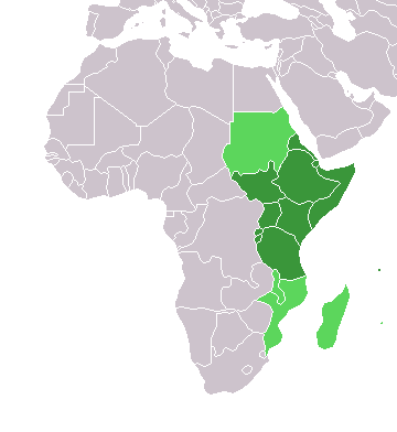 Africa countries eastern