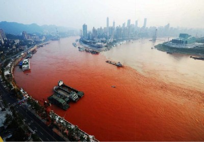 la pollution des rivieres en Chine02a