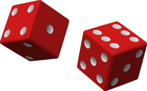 Anonymous two red dice